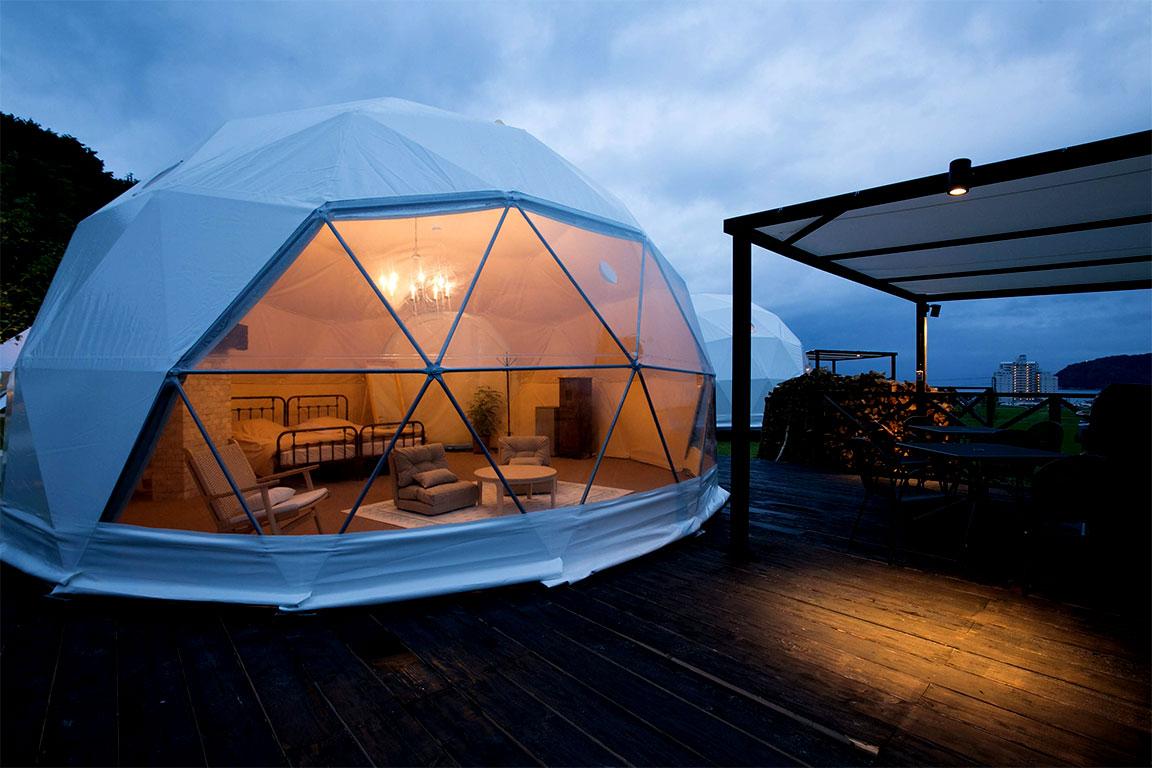 プライベートガーデンドーム