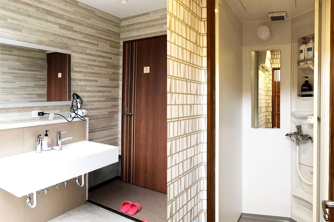 シャワー室(サニタリー棟)