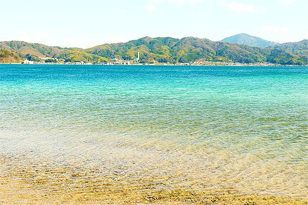海まで歩いて5分