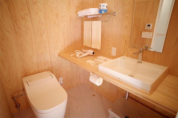 【キャビン】トイレ・洗面台