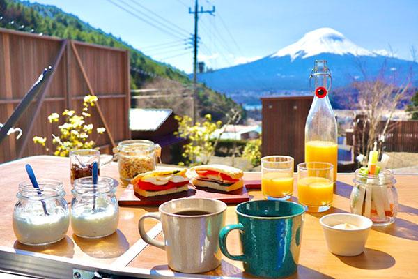 ご朝食:モーニングパニーニセット