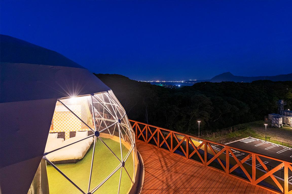 グランシアドーム Type  グランデ(10mドームテント)
