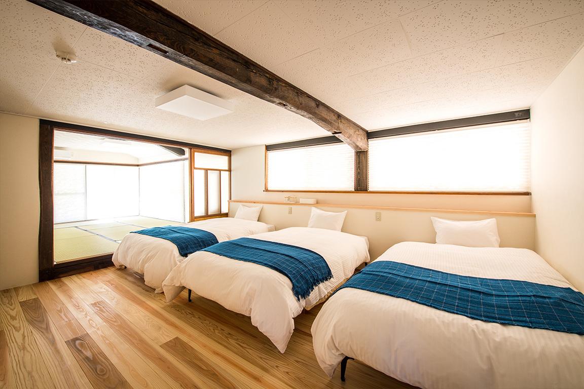 家族でもゆっくりとくつろげる複数の寝室