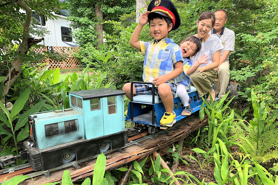 淵庵村森林鉄道(ミニ鉄道)