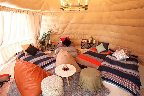 ドーム型テント <6m / 8m>