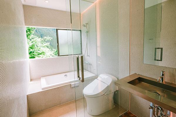 専用のトイレ・シャワー・バスルーム