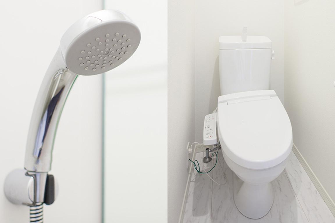 個別のトイレ・バスルーム(レイクビュードーム)