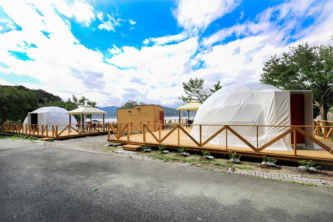 シーサイドテラス・グランピングドーム熊野灘【三重】